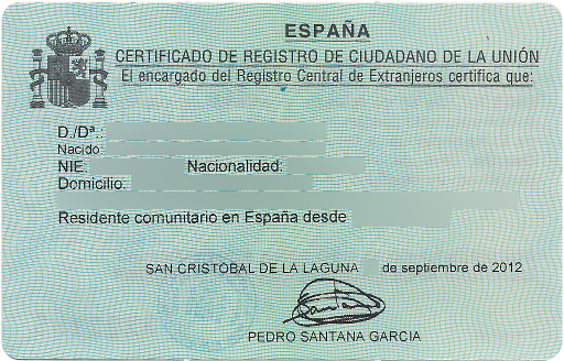 NIE fiscaal resident Spanje